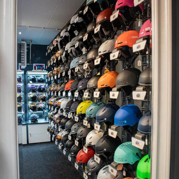Helmen Skishop Nieuwegein 2